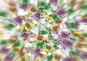 Viele Euroscheine durch BGE